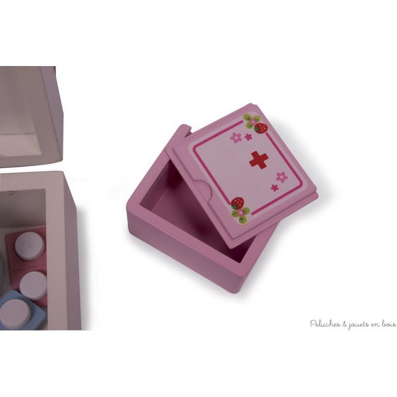 valise toute quip e pour jouer au docteur jouets et. Black Bedroom Furniture Sets. Home Design Ideas