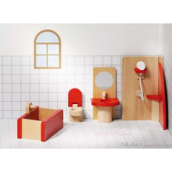 Meubles de poupées Salle de bains