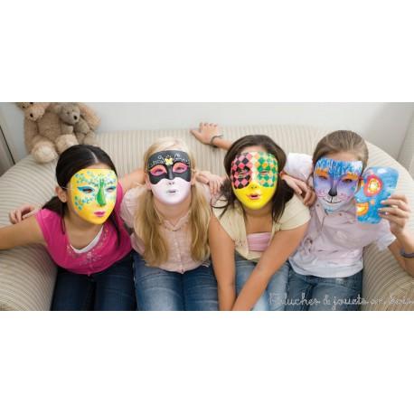 CréaKit peindre son masque