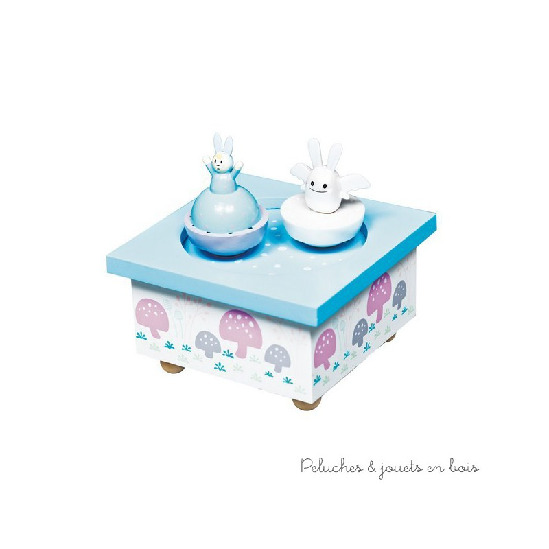 boite a musique bois bebe hoze home. Black Bedroom Furniture Sets. Home Design Ideas