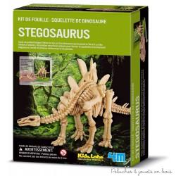 Kit de fouille -Squelette de stégosaure
