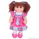 Bigjigs, Très grande poupée de chiffon Emma 35cm