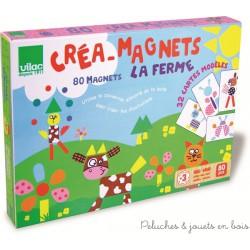 """Créa-magnets """"la ferme"""""""