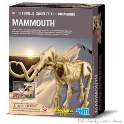 Kit de fouille Squelette de mammouth