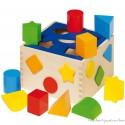 Goki Boîte à formes en bois