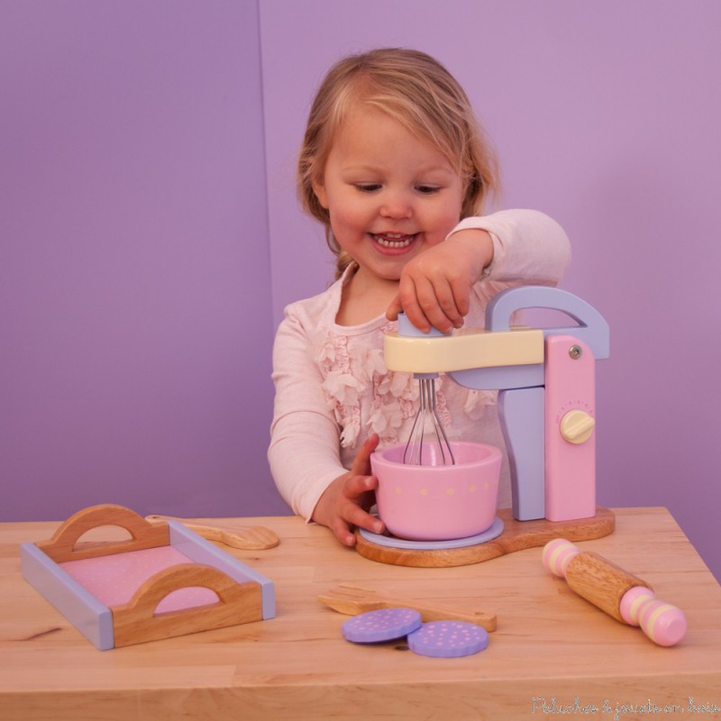 Robot mixeur accessoires de cuisine jouet d 39 imitation en for Robot art et cuisine