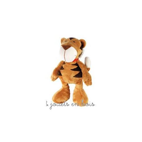 Grand tigre en peluche Tibor 35 cm