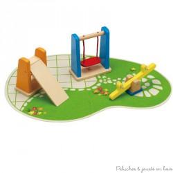 Jardin d'enfant, accessoire pour maison de poupée