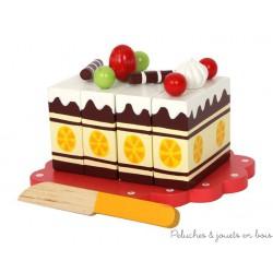 Gâteau gourmand jouet d'imitation en bois Small foot design