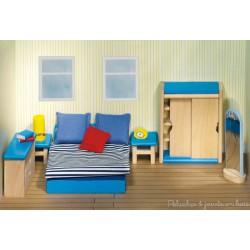 meubles pour maison de poupée chambre à coucher