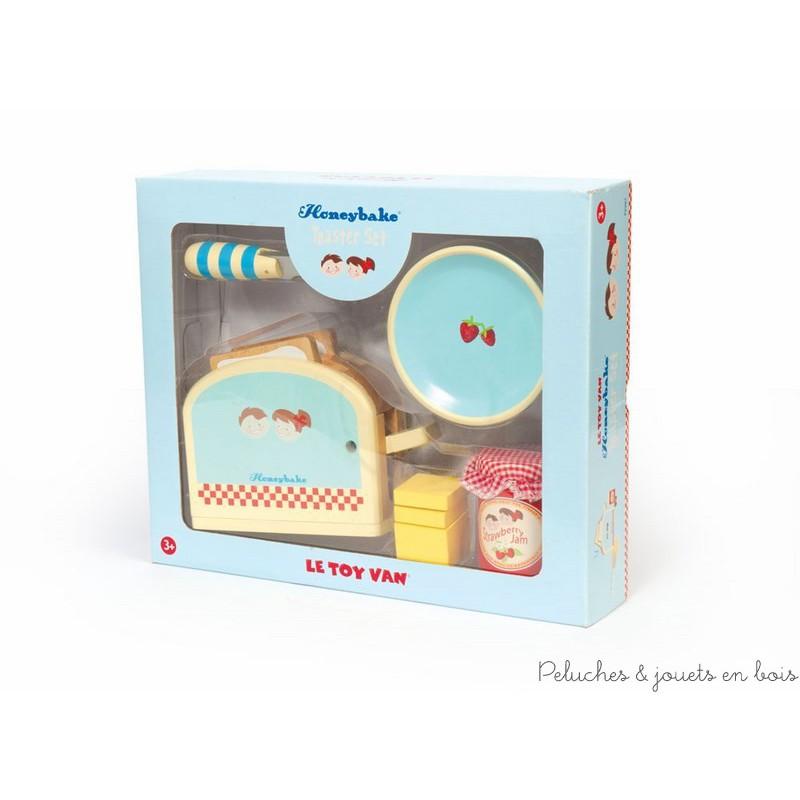 jouet d'imitation en bois Le Toy van petit dejeuner grille pain ...