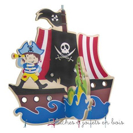 Mobile de décoration pirate