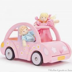Le Toy Van La voiture de Sophie jouet en bois de maison de poupée