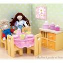 La salle à manger Sugar Plum Meubles pour maison de poupée Le Toy Van