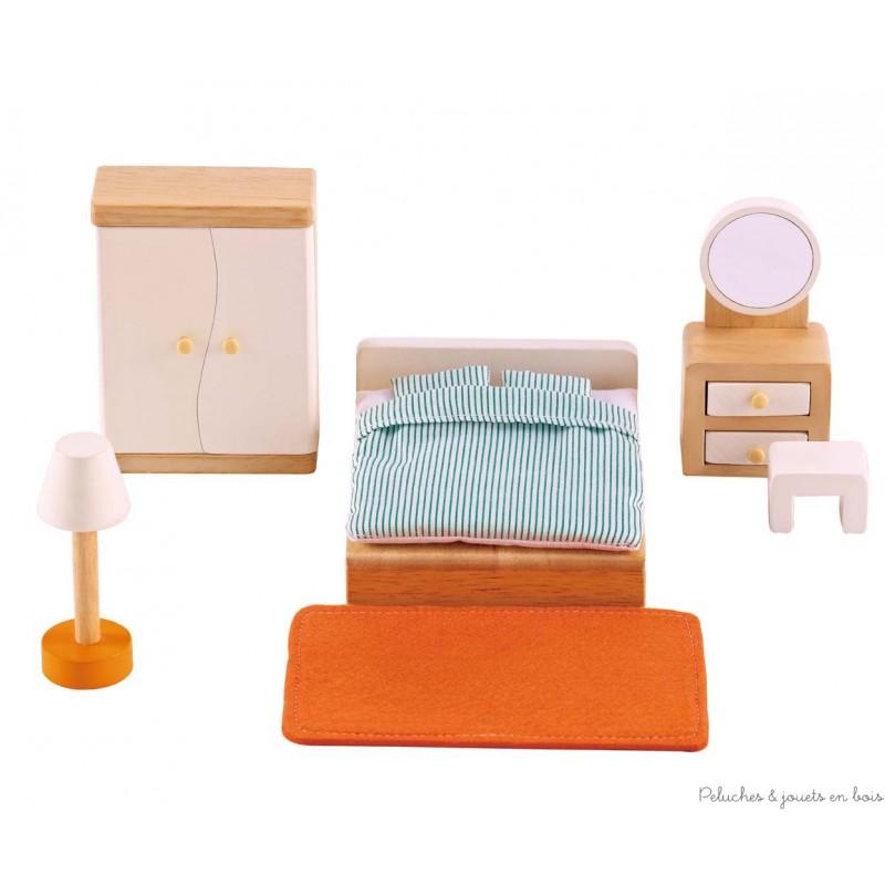 Pour meubler la maison de poup e la chambre des parents for Chambre pour parents