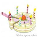 Le Toy Van Gâteau d'anniversaire à la vanille Honeybake
