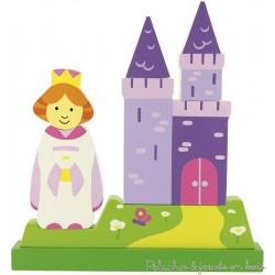 Puzzle magnétique vertical princesse