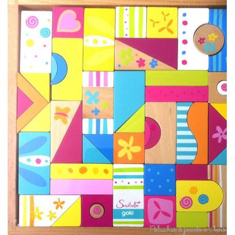 puzzle, mosaïque et jeu de construction Susibelle