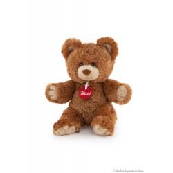 Ours en peluche brun 26 cm Marlon qualité Trudi