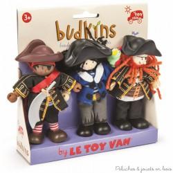 Le Toy Van,  3 filbustiers Budkins