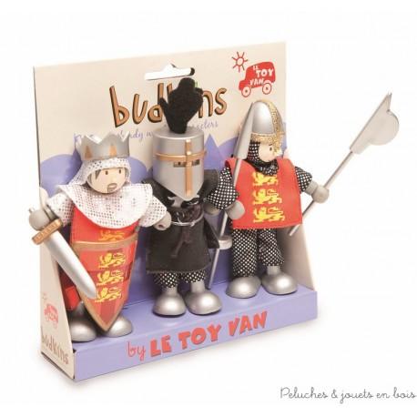 Le Toy Van, Richard et ses chevaliers Budkins
