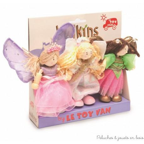 Le Toy Van, 3 bonnes fées budkins