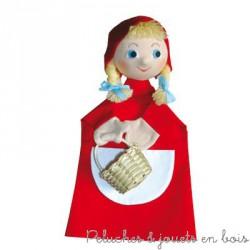 Marionnette à main personnage Le Petit Chaperon Rouge