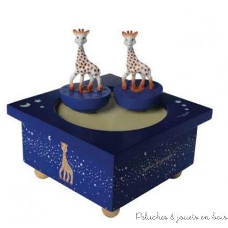 Manège musical bois Sophie la Girafe Voie lactée