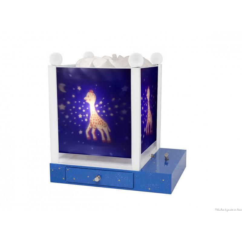 lanterne magique sophie la girafe cadeau trousselier. Black Bedroom Furniture Sets. Home Design Ideas