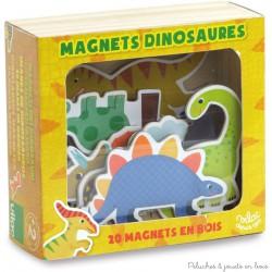 Magnets dinosaure 20 pièces en coffret bois