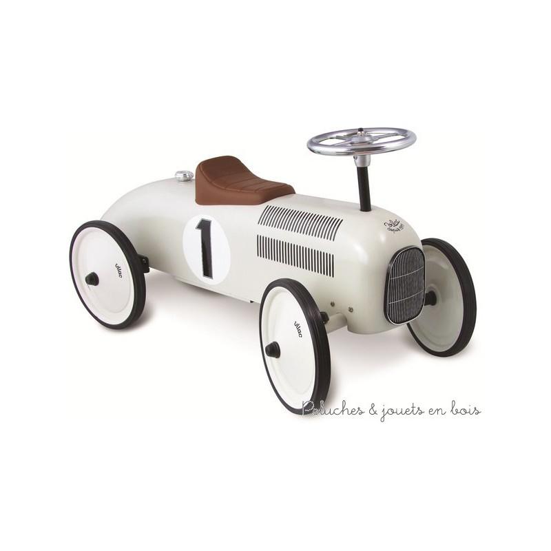 voiture porteur m tal nacr vintage jouet b b sign vilac. Black Bedroom Furniture Sets. Home Design Ideas
