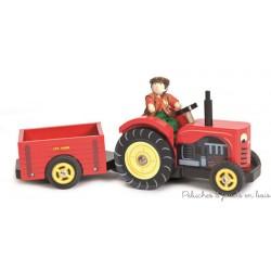 Le tracteur de Bertie