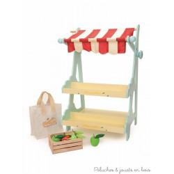 Marché HoneyBee, étal en bois Le Toy Van