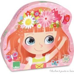 Puzzle Princesse des fleurs