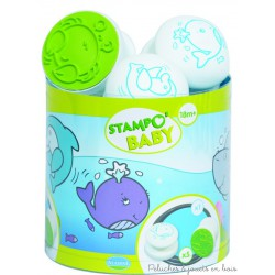 stampo baby mer 5 tampons  + 1 encreur