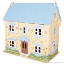 Grande maison de poupée en bois Bleue Sunflower Bigjigs