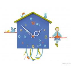 Horloge Alabonneheure Le Garçon Et Le Chat L'Oiseau Bateau