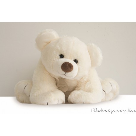 Histoire d'Ours Gros'Ours Ecru 65 cm