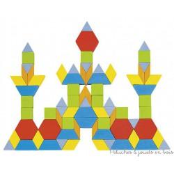 Goki Puzzle Mosaïque, Formes Géométriques Géo