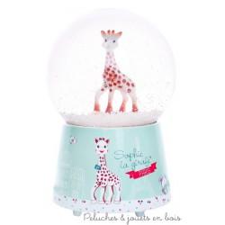 Trousselier Boule à neige musicale Sophie la girafe Paris©