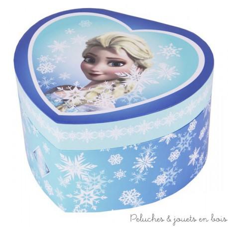 Trousselier Grand Coeur Musical Elsa la reine des neiges