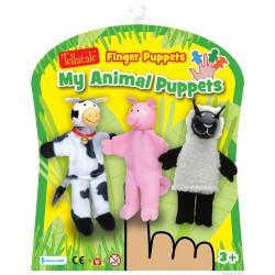 set de marionnettes à doigt La ferme