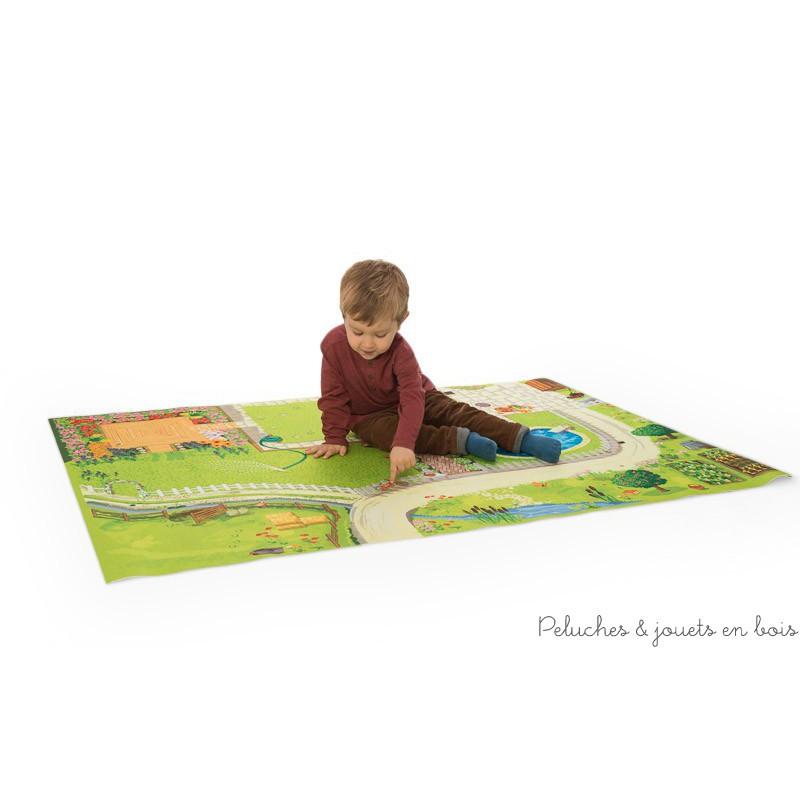 Tapis De Jeu G Ant D 39 1 50m X 1m Pour Maison De Poup Es Le Toy Van 3 Ans