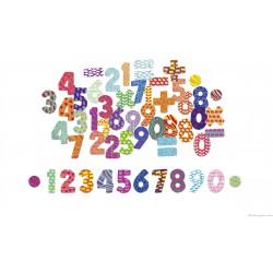 Vilac, Magnets chiffres 56 pièces en coffret bois