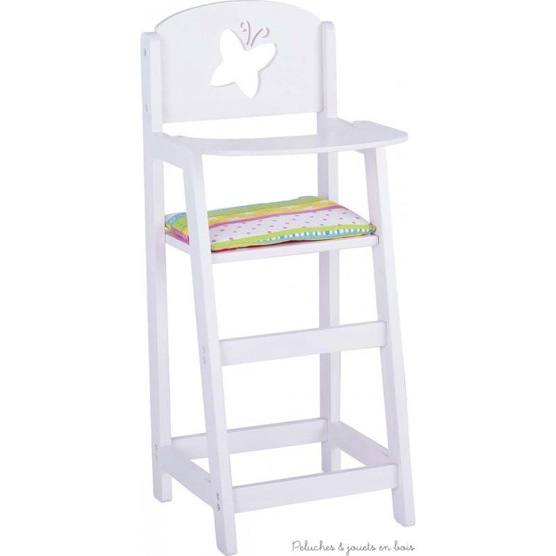 chaise haute en bois pour poup e gamme susibelle de goki pour 3 ans. Black Bedroom Furniture Sets. Home Design Ideas