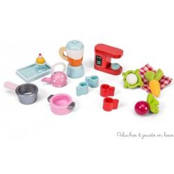 Le Toy Van, Set d'accessoire de cuisine pour poupées