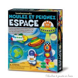 Kit de moulage à peindre Espace fluorescent 4M