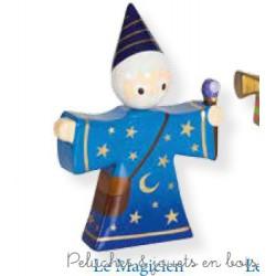 Le Coin des Enfants, Figurine en bois peint Le Magicien
