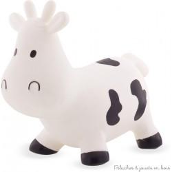 Ulysse Skippy Vache sauteuse blanche
