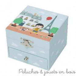 Trousselier Boîte à  Musique Cube Ninon Parisienne